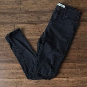 Topshop Leigh moto jeans